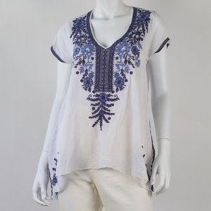Johnny Was Workshop Tunic Top
